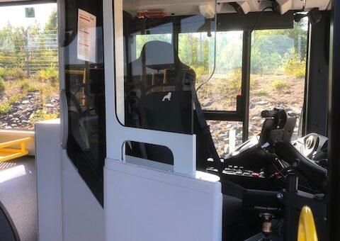 TriNorth levererar Covid-19 Säkerhetsdörr för Swedavia bussförare